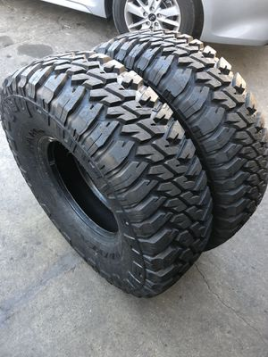 37/12.50R 16.50 good year tires (2 only $400) NEW for Sale in Santa Fe Springs, CA