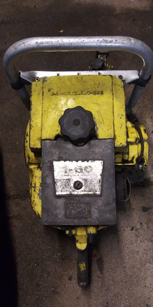 vintage Mcculloch chainsaw for Sale in Lakeland, FL