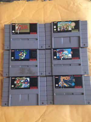 Super Nintendo Retro Game bundle for Sale in Baltimore, MD