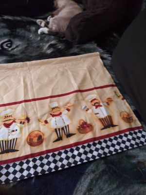 Kitchen curtains for Sale in Fall River, MA