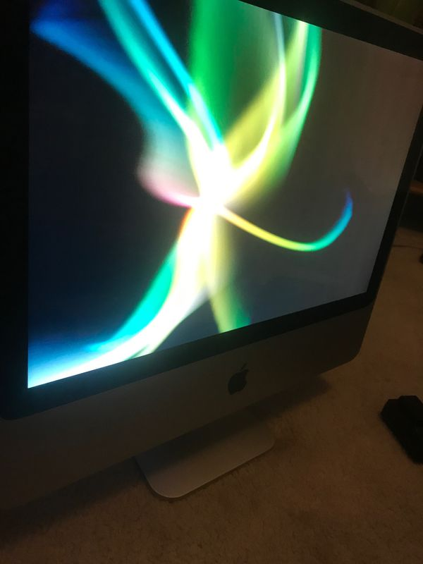 Apple iMac desktop unlocked