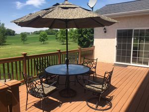 Solid Wrought Iron Deck/Patio Furniture!! for Sale in Shakopee, MN