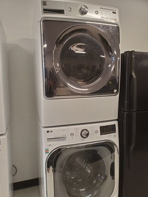 LG front load washer and kenmore electric dryer in good condition with 90 day's warranty for Sale in Mount Rainier, MD