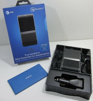 BlueAnt S4 Bluetooth Handsfree Speaker with Multipoint & A2DP for Car $60 for Sale in Houston, TX