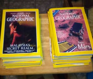 NATIONAL GEOGRAPHIC books/magazines '80s, '90s, 2000 for Sale in Midland Park, NJ