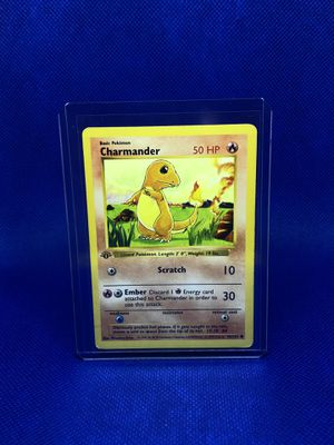 Pokemon Cards - Base Set 1st Edition - Charmander for Sale in Winter Garden, FL