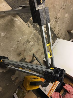 Dewalt adjustable saw horses for Sale in Foxborough, MA