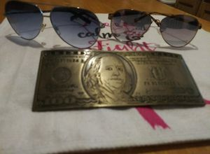 Armani exchange sunglasses and belt buckle for Sale in Orange, TX