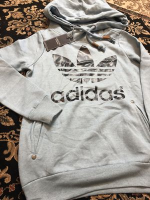 didas Men's Trefoil Warm-up Hoodie for Sale in Falls Church, VA