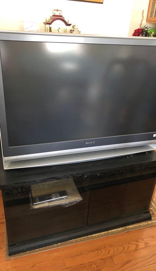 """Sony Wega 42"""" TV with stand"""
