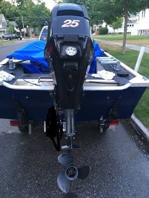 25 Horse Mercury Outboard four stroke for Sale in Traverse City, MI