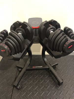 Bowflex Dumbbells 10 to 90 lbs each for Sale in Boca Raton, FL
