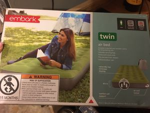 Twin never out of box air mattress for Sale in Gig Harbor, WA