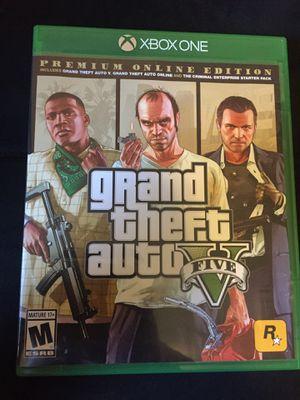 GTA 5 Xbox one for Sale in Ocoee, FL