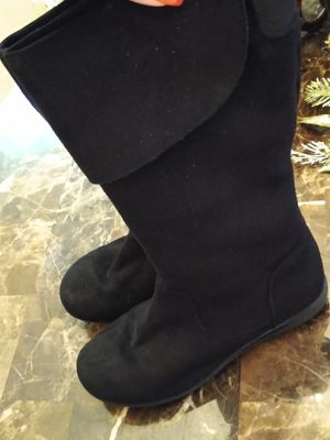 Girls/Kids Black Boots Size 1 for Sale in Wilmington, NC
