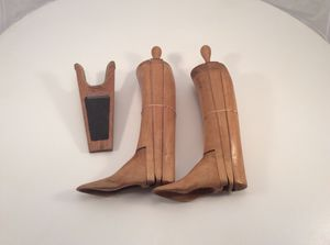 Vintage James Moore Boot Forms & Boot Jack for Sale in Durham, NC