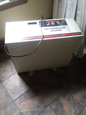 Air purification system. Great for purifying air and wood shops or workshops for Sale in Silvis, IL