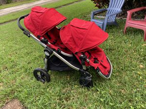 Baby jogger double stroller for Sale in Pembroke Park, FL