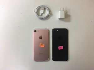 iPhone 7 32gb factory unlocked, iphone AT&T, T-Mobile,Cricket Metro pcs, Verizon, Straight talk Simple mobile, unlocked, iphone for Sale in Dallas, TX