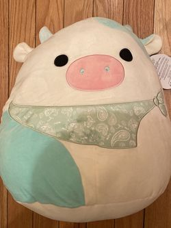 """Belana The Cow Squismallow 16"""" for Sale in Queens,  NY"""