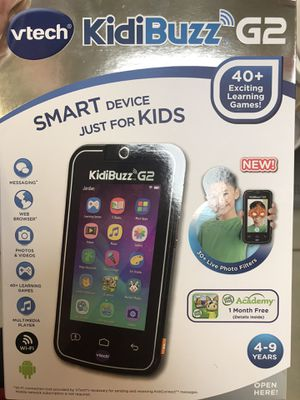 Kiddibuzz G2 smart phone for kids BRAND NEW for Sale in Fort Worth, TX