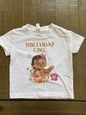 Moana birthday shirt for Sale in Phoenix, AZ