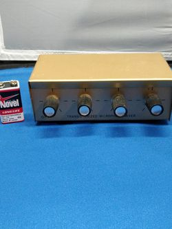 Microphone Mixer Transistorized Japan for Sale in Chicago,  IL
