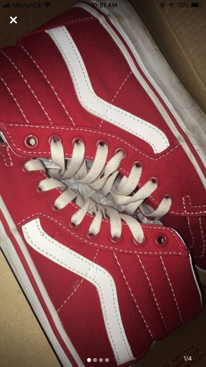 Red & White Vans for Sale in Irondequoit, NY