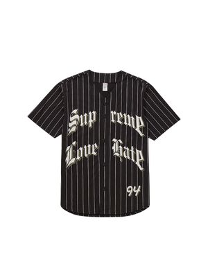 Supreme Love Hate Baseball Jersey for Sale in Fresno, CA