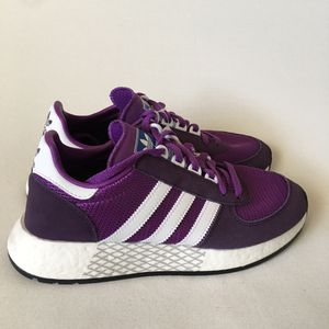 NEW Adidas Originals Marathon Tech Boost Running Shoes Purple G27696 Womens Sz 7 for Sale in Las Vegas, NV