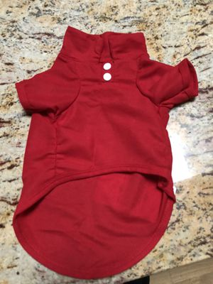 Holiday red doggie shirt L new for Sale in Skokie, IL