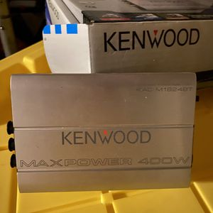 Kenwood amp Bluetooth with controller for Sale in Wildomar, CA