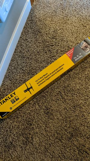 Stanley TV mount for Sale in Gig Harbor, WA