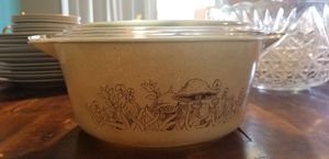 Vintage Pyrex Forest Fancies Mushroom Casserole for Sale in Nampa, ID