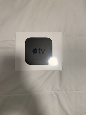 Apple TV 4K 64gb with 2 year Apple care for Sale in Miami, FL