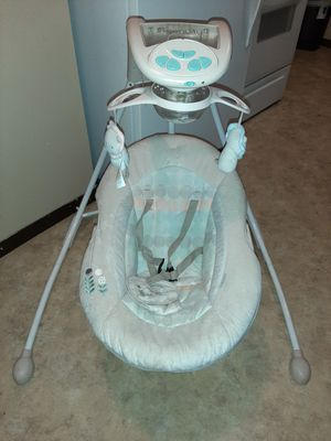 Ingenuity Dream Comfort cradling baby swing for Sale in Sioux Falls, SD