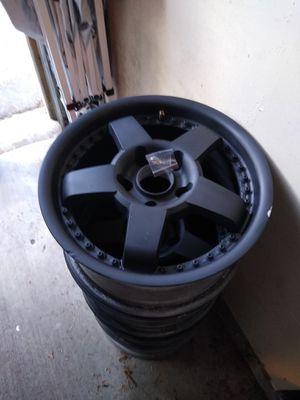 5x114.5 15 inch black rims for Sale in Everett, WA