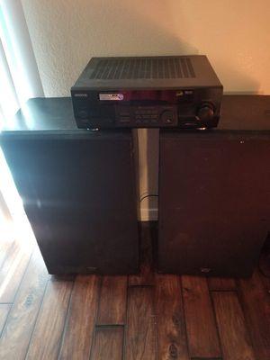Kenwood Floor Speakers and Kenwood Stereo for Sale in Phoenix, AZ