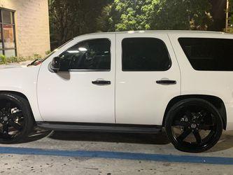Black 26 Inch Wheels 6 Lug for Sale in Pompano Beach,  FL