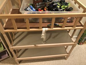Baby changing table for Sale in Reston, VA