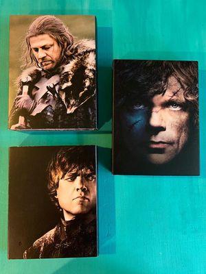 GOT DVD Seasons 1-3 for Sale in Seattle, WA