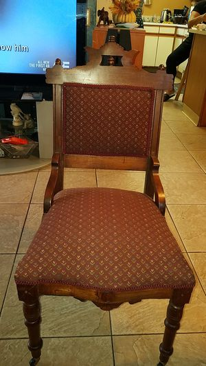 Antique eastlake sewing chair for Sale in San Diego, CA