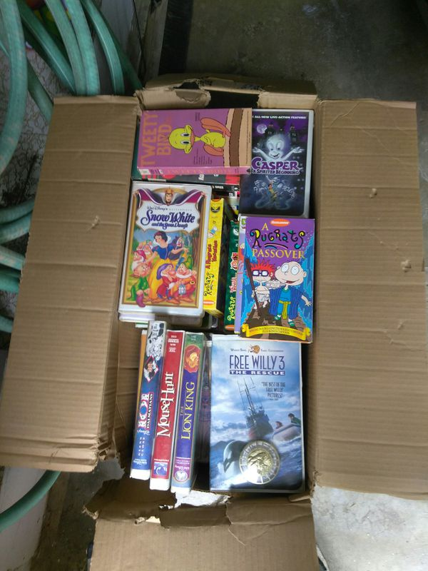 VHS kids movies