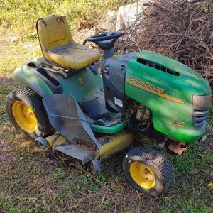 John Deere L130 Lawn tractor 48″ mid-mount mower deck. Riding Lawn Mower (NOT FREE) for Sale in FL, US