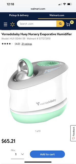 Vornadobaby humidifier with two new filters for Sale in Vancouver, WA