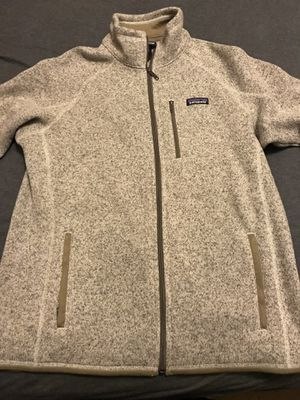 Patagonia Men's Better Sweater Fleece Jacket - Bleached Stone - Size L for Sale in San Diego, CA
