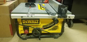 Dewalt 15 amp corded 10in compact table saw for Sale in Vancouver, WA