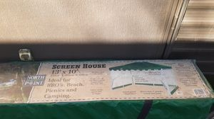 Screen house 13 by 10 never put up price on box $99.99 for Sale in Payson, AZ