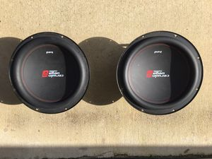 Brand new not even broken in yet 12 inch subs I paid 150 for Them asking hundred or best offer for Sale in Bakersfield, CA