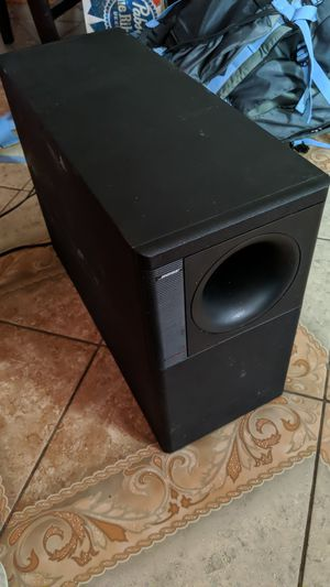 Bose Acoustimass 5 series 2 used once for Sale in Columbus, OH